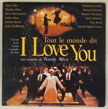 Tout le monde dit I love you CD Woody Allen Promo