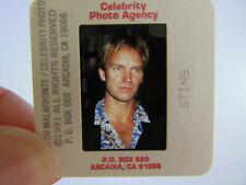 More details for original press photo slide negative - sting - 1991 - g - the police