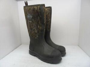 Muck Boot Men's Chore Tall Neoprene Rubber Boots Mossy-Oak Size 9M