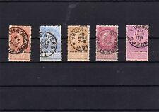 Belgien - Lot aus Nr. 53 - 59 o  ( 11969-o2 )