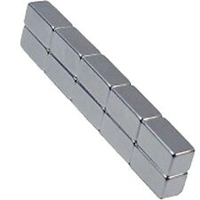 10 Neodymium Magnets 1/2 x 1/4 x 1/4 inch Bar N48 Rare Earth