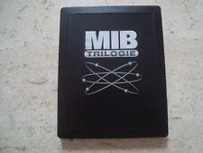 MEN IN BLACK TRILOGY 4 DISC 3D Blu-Ray SteelBook LIMITED rare BLACK Edt DEBOSSED