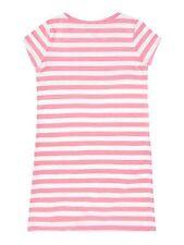Ralph Lauren Ragazze a Righe T-shirt rosa 16-17 ANNI-NUOVO