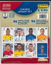 ACTUALIZACIÓN UPDATE 96 CROMOS STICKERS - PANINI WORLD 2018 RUSSIA