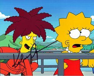 Kelsey Grammer SIGNED 10X8 PHOTO The Simpsons Sideshow Bob AFTAL COA (5648)