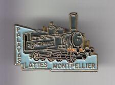 RARE PINS PIN'S .. TRAIN RAILWAYS FRANCE TOURISME PALAVAS LATTES MONTPELLIER ~DG