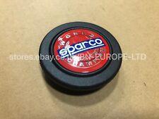 SUBARU IMPREZA SPARCO STEERING WHEEL RARE RED WORLD CHAMPIONSHIP HORN WRX STI