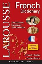 Anglais Dictionnaire/French Dictionary: Francais-Anglais, Anglais-Francais/Frenc