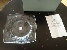 Partylite P9208 Clarity Pillar Tray - Brand New