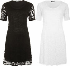 Party Short Sleeve Plus Size Tunic Dresses for Women