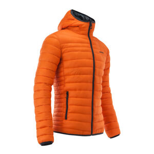 ACERBIS PEAK 73 REVERSIBLE JACKET ORANGE CASUAL PADDED QUILTED NEW MX CHEAP WARM
