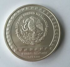 10000 Pesos 5 Unze 1992 Mexiko Piedra De Tizoc. 162Y