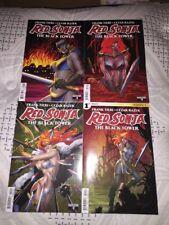 RED SONJA The Black Tower #1-4 Dynamite Comics 2014 NM FULL RUN LOT SET