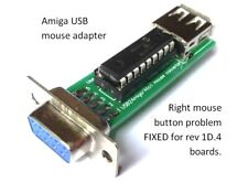 KMTech  Amiga USB mouse adapter converter RIGHT MOUSE BUTTON FIXED