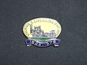 Badge. Stockton & Darlington Railway1925-1975