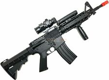 Well Airsoft Rifle M4 Style D92H Electric AEG Gun Full Auto w Battery & Charger