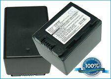 3.7 V BATTERIA PER SAMSUNG HMX-H203BN, HMX-S10, HMX-S15BP, hmx-s10bn, smx-f44sn, H