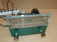 Vintage Bogen Fm801 Tube Amplifier green