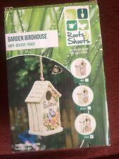 GARDEN ORNAMENT INSPIRATIONS BIRDHOUSE BIRD HOUSE HOTEL NEST NESTING - PEACE