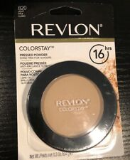 Revlon ColorStay Pressed Powder # 820 Light Pale 0.3 oz Powder New Sealed