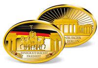 "Münze, Gedenkmünze, Ovale Gigantenprägung ""Brandenburger Tor"""