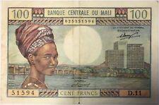 MALI - 100 FRANCS (1972-73) - Billet de banque (TTB)