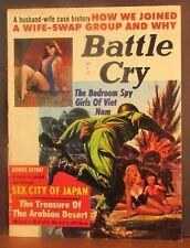 Battle Cry February 1965 Bedroom Spy Girl Sex City Japan Arabian Desert Treasure