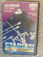 Starion,vector space game,Amstrad CPC 464/664/6128/Plus,cassette tape,David Webb
