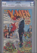 X-Men #30 CGC 9.8 1992 Wedding Scott  Summers  Marvel Comic: Wrap-a-round Cover