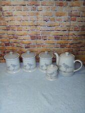 More details for the english tableware co sandpiper tea,coffee,sugar,teapot and sugar bowl set