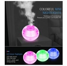 Crystal Night Light Air Humidifier Revitalisor - PINK