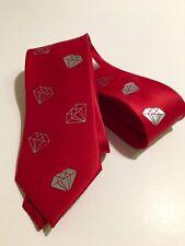 Diamonds Neckties, Great Quality , Brand New, Red Tie