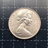 1982 AUSTRALIAN 20 CENT COIN