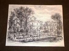 Parigi nel 1869 La Scuola di Farmacia Rue de l'Arbalète Francia