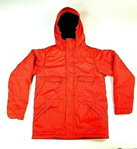 Snowboarding/Ski Burton The White Collection Jacket Dry Ride Large 14/16 Orange