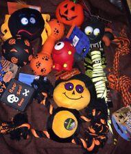 Halloween Dog Toys x10 Joblot Squeaky Toys Soft Dog Toys