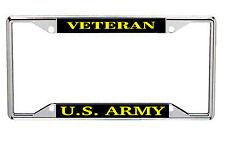 Veteran U.S. Army Metal License Frame Every State