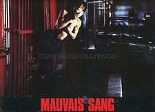 DENIS LAVANT  MAUVAIS SANG 1986 VINTAGE LOBBY CARD