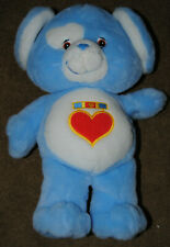 """New no tags 12"""" Care Bear Cousin Plush 2004 Release Loyal Heart Dog"""