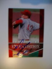 NICK TRAVIESO autograph Elite Baseball card CINCINNATI REDS Prospect #1 pick