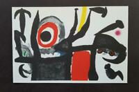"Joan Miro ""Manoletina""  Mounted offset  Lithograph Limited ed 1972"