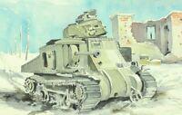 WW 2 Orel Russland Winter 1942/43  Panzer im Trümmerfeld