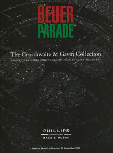 Heuer Parade - Phillips Auction Catalog