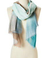 Women Ladies Long Fashion Viscose Scarf Shawl Wrap Green Ombre Scarves for girls