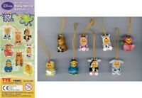 Set 8 Figuras Winnie Pooh Special Spring Edición Peek Mini Tomy Raro