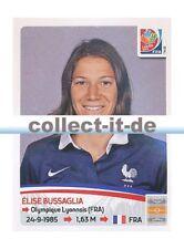 Panini Frauen WM World Cup 2015  - Sticker 412 - Elise Bussaglia