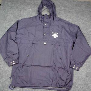 Vintage Descente Pullover Hooded Snowboard Ski Snow Jacket Blue Size US 3