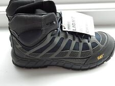 Men's CAT Caterpillar Streamline Mid Boot work safety composite toe size 9 NEW