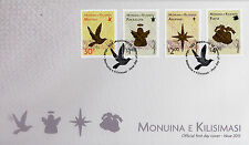 Niue 2013 FDC Christmas 4v Set Cover Birds Angel Star Bells Monuina Kilisimasi