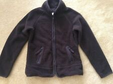 Thick Brown Fleece Women's Jacket - Size S